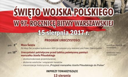 Obchody Święta Wojska Polskiego w Puławach