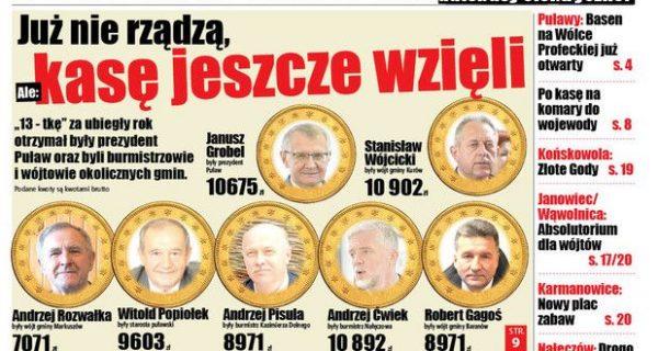 Zapraszamy do lektury  Wspólnoty Puławskiej. Poseł Mucha ( PO ) o Zakładach Azotowych
