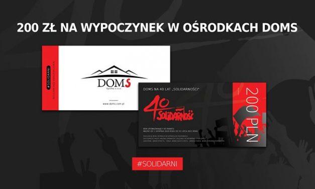"""200 zł na wypoczynek dla członków """"S"""""""